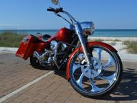 ,,,,100th Anniversary 2003 Custom Road King. 24k miles
