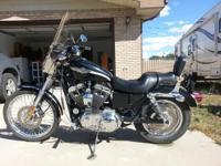 2003 Harley Davidson XL1200 Sportster Custom.