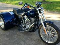 2003 Harley Super Glide Trike woth only 10k miles Bike