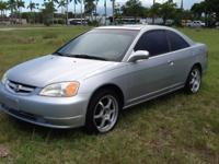 2003 Honda Civic EX coupe v tech motor $3350 Cash, 134k