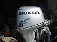2003 honda 25 horse power motor asking for $2000 is in