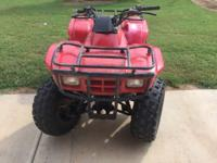 Good hunting 4 wheeler Great brakes, tires and new