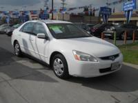 Color: WHITE BodyStyle: 4 DOOR SEDAN Stock: 045042 Trim