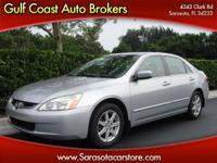 Options Included: N/A2003 HONDA ACCORD EX V-6!