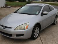 Options Included: N/ASport Honda Accord V6 coupe. Fully