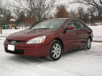 Our 2003 Honda Accord EX sedan is the best combination