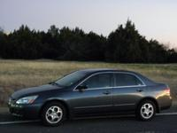 Options Included: N/A2003 Honda Accord SDN LX, clean
