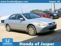 Options:  2003 Honda Accord Sdn Lx Auto|Front Wheel