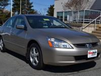 2003 Honda Accord Sdn 4dr Car EX Our Location is: King