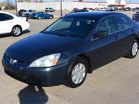 2003 Honda Accord with a 2.4 L 4 cyls Automatic