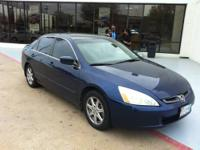 THIS 2003 HONDA ACCORD EX-L HAS A CLEAN CARFAX AND IS A