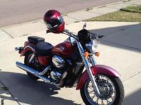 2003 Red Honda ACE 750 $2,500 O.B.O KBB is at $3,250