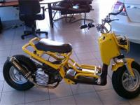 This 2003 Honda Ruckus is truley custom!!! It started