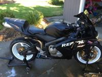 I am selling my 2003 Honda CBR600RR for $3,800 or best