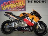 2003 Honda CBR600RR Repsol Replica Crotch Rocket for