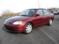 Options Included: N/A2003 Honda Civic EX Sedan - This
