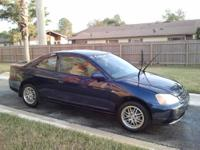 2003 HONDA CIVIC EX BLUE >>>>>AUTOMATIC<<<< IN GOOD