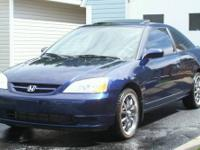 2003 HONDA CIVIC EX BLUE >>automatic<<< IN VERY GOOD