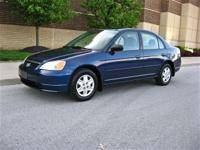 Options Included: N/A2003 Honda Civic LX -- Eternal