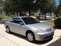 This is a must see 2003 Honda Civic LX Coupe.