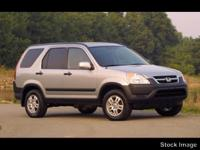 Blue 2003 Honda CR-V EX AWD 4-Speed Automatic with