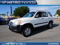 Trying to find a clean, well-cared for 2003 Honda CR-V