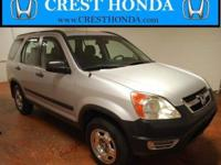 Options Included: N/A2003 Honda CR-V LX SUV Looking for