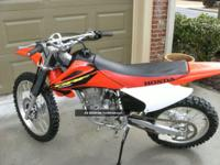 2003 Honda CRF230 filth bike. Entirely stock. Adult