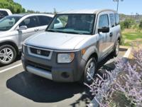 2003 Honda Element EX Silver AWD 4-Speed Automatic with