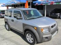 This 2003 Honda Element 4dr EX SUV features a 2.4L I4