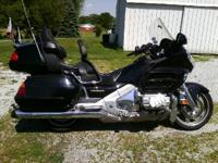 2003 Honda Gold Wing 1800. 71200 miles- 1800cc- Black-