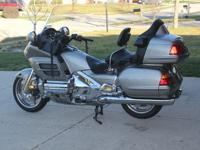 FOR SALE NO RESERVE 2003 HONDA GOLDWING 1800 GL WITH