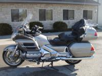 2003 Honda Goldwing GL1800. This bike runs and trips