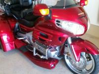 For sale. 2003 Goldwing Trike 1800 with a 2010