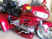 For sale. 2003 Goldwing Trike with a 2010 Coversion