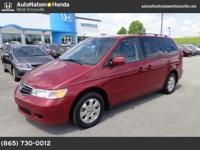 2003 Honda Odyssey Our Location is: AutoNation Honda