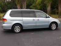 2003 Honda Odyssey EX, 1 owner, clean vehicle history