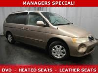 *DESIRABLE FEATURES:* an DVD, HEATED SEATS, LEATHER