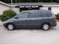 Options Included: N/A2003 Honda Odyssey EX-L w/ DVD -