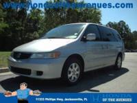Only one owner! You win! This 2003 Odyssey is for Honda