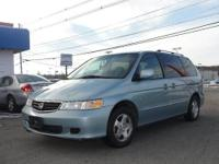 2003 HONDA ODYSSEY EXL: The Honda Odyssey is at the top