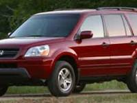 Options:  2003 Honda Pilot Ex|/|V6 3.5L