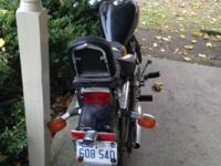 . I have this 2003 Honda Rebel motorcycle. 250cc. It