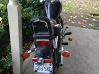 I have this 2003 Honda Rebel motorbike. 250cc. It has