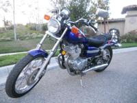 2003 Honda Rebel 250, 6,6 XX Low Miles. Registered with
