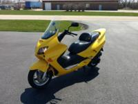 Good condition. 10,350 miles. Nice scooter. Fun & Easy