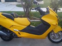 2003 Honda Reflex NSS250 with 22795 miles. great shape.
