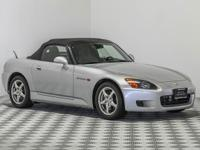 This ultra-low mileage S2000 must be seen to be