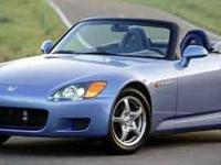 Blue 2003 Honda S2000 RWD 6-Speed Manual with Overdrive