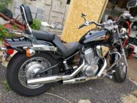 2003 Honda Shadow VLX Honda 600 Shadow with 3357 miles.